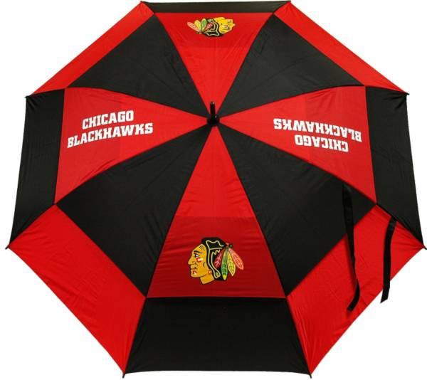 "Team Golf Chicago Blackhawks 62"" Double Canopy Umbrella product image"