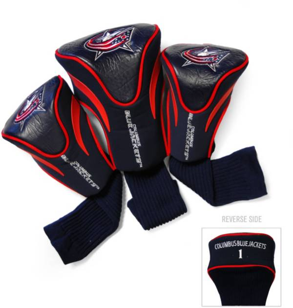 Team Golf Columbus Blue Jackets 3-Pack Contour Headcovers product image