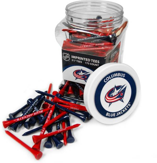 Team Golf Columbus Blue Jackets 175 Count Golf Tee Jar product image