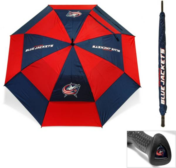 "Team Golf Columbus Blue Jackets 62"" Double Canopy Umbrella product image"