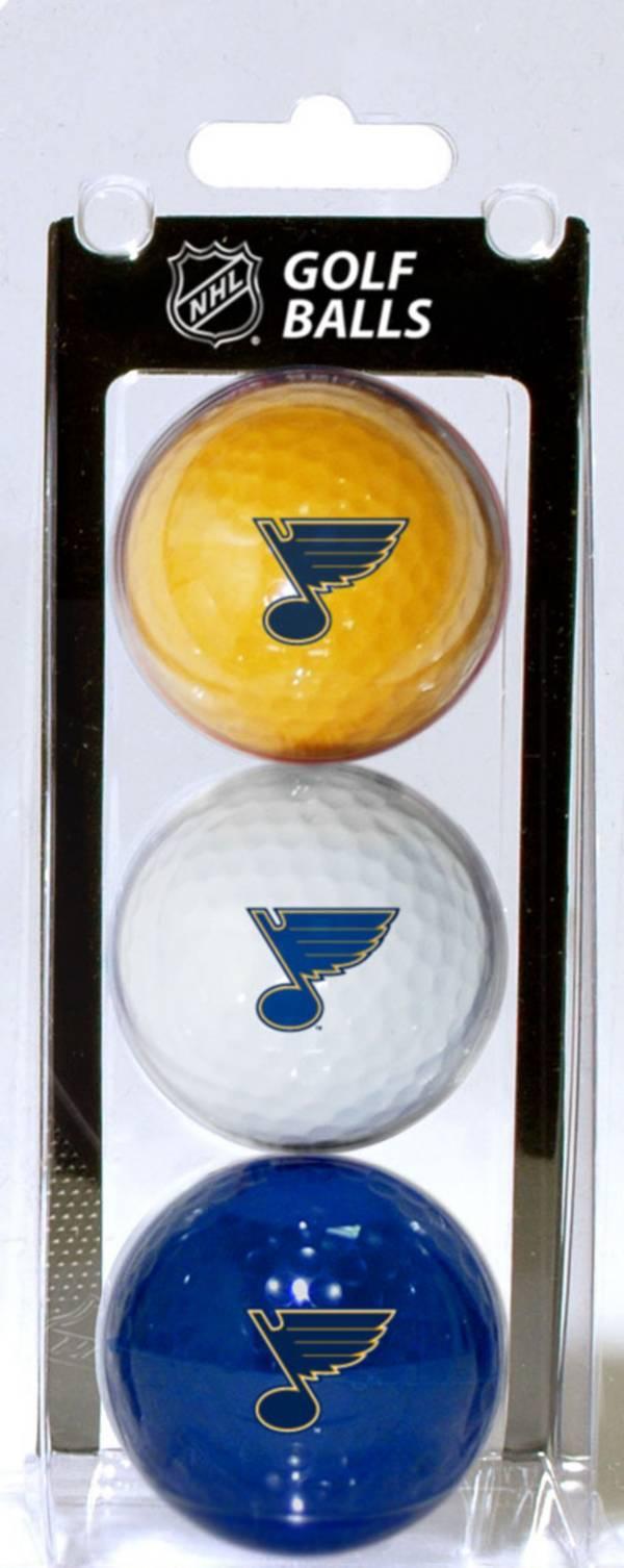 Team Golf St. Louis Blues Three Pack Golf Ball Set product image