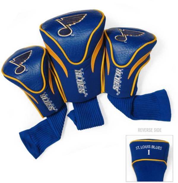 Team Golf St. Louis Blues 3-Pack Contour Headcovers product image