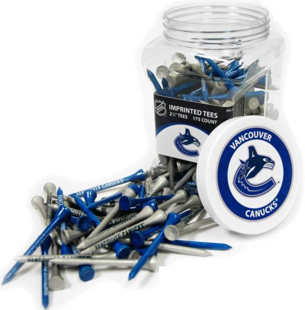 Team Golf Vancouver Canucks 175 Count Golf Tee Jar product image