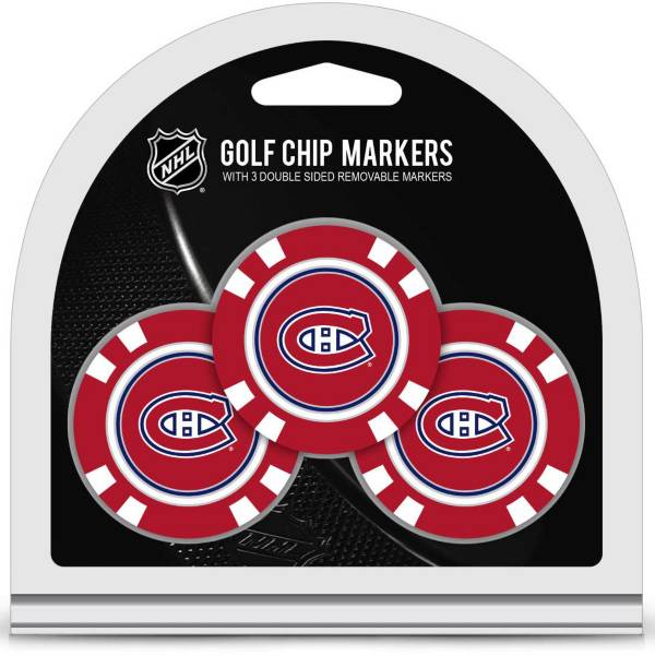 Team Golf Montreal Canadiens Golf Chips - 3 Pack product image