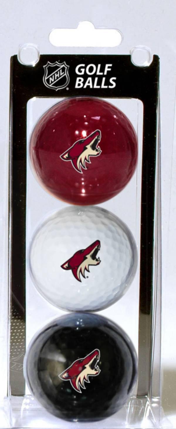 Team Golf Arizona Coyotes Three Pack Golf Ball Set product image