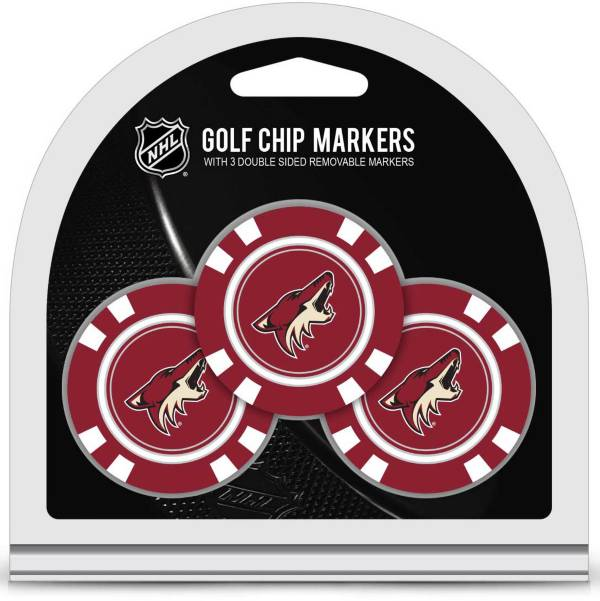 Team Golf Arizona Coyotes Golf Chips - 3 Pack product image