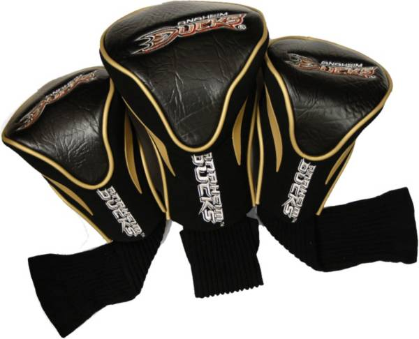 Team Golf Anaheim Ducks 3-Pack Contour Headcovers product image