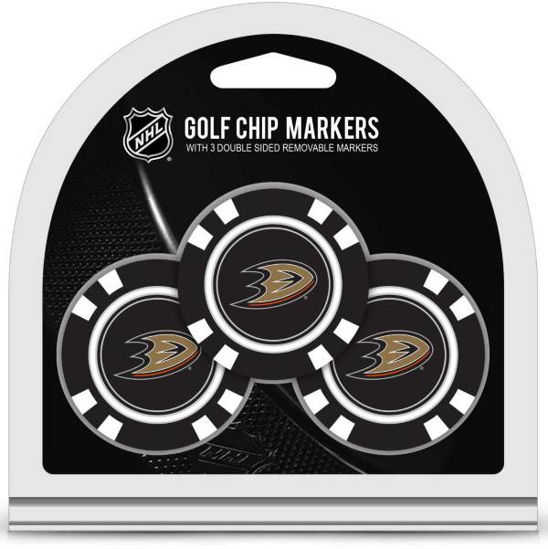 Team Golf Anaheim Ducks Poker Chips Ball Markers - 3-Pack product image