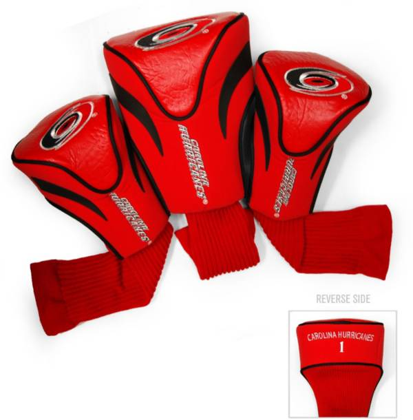 Team Golf Carolina Hurricanes 3-Pack Contour Headcovers product image
