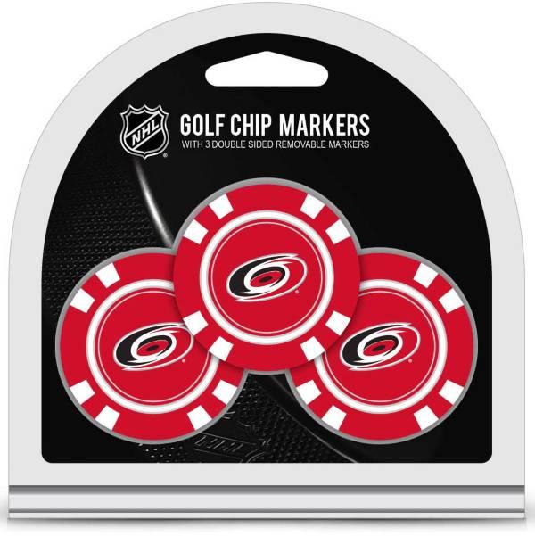 Team Golf Carolina Hurricanes Golf Chips - 3 Pack product image