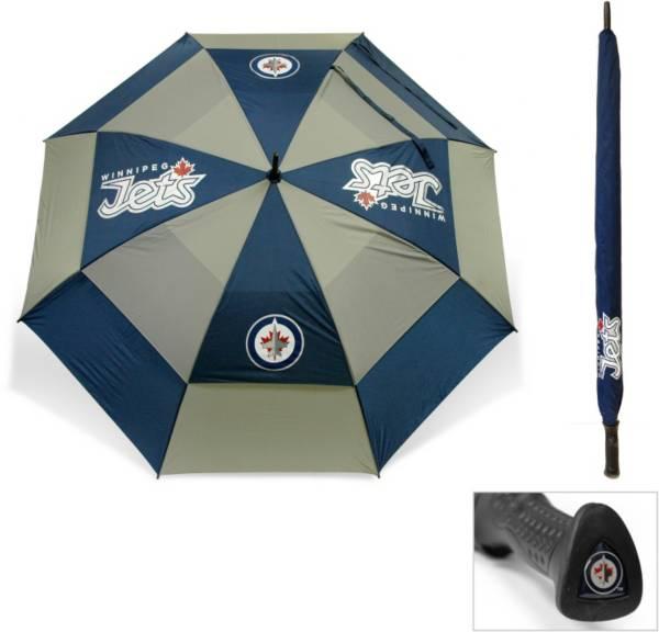 "Team Golf Winnipeg Jets 62"" Double Canopy Umbrella product image"