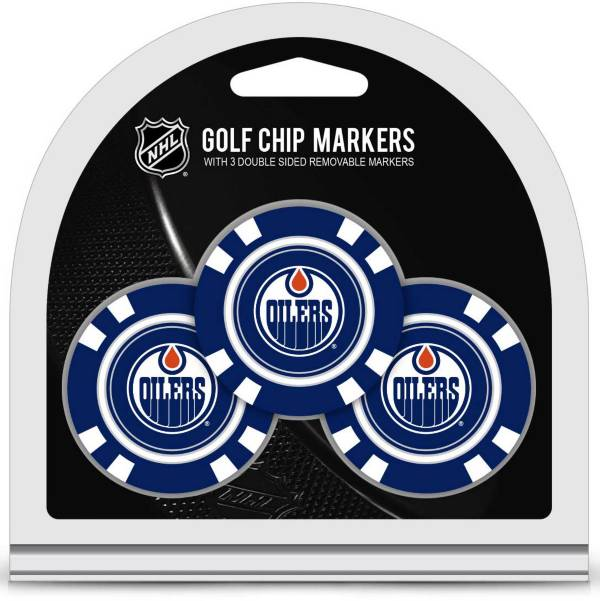 Team Golf Edmonton Oilers Golf Chips - 3 Pack product image
