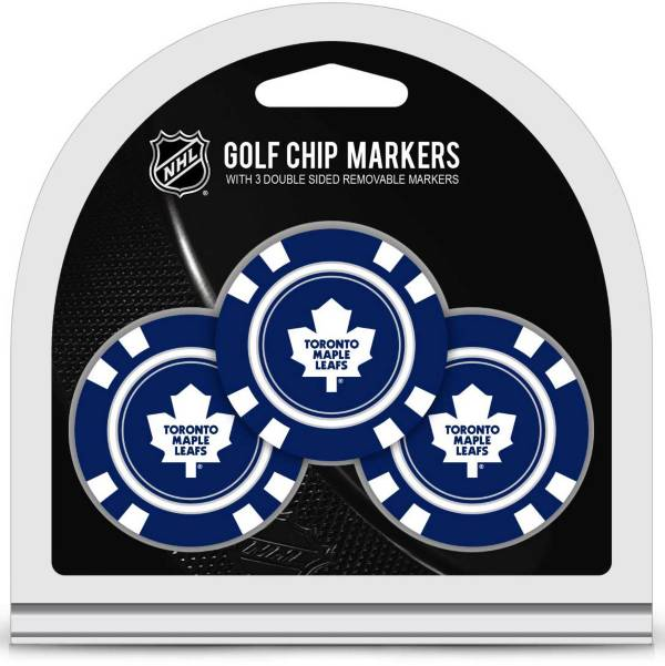 Team Golf Toronto Maple Leafs Golf Chips - 3 Pack product image