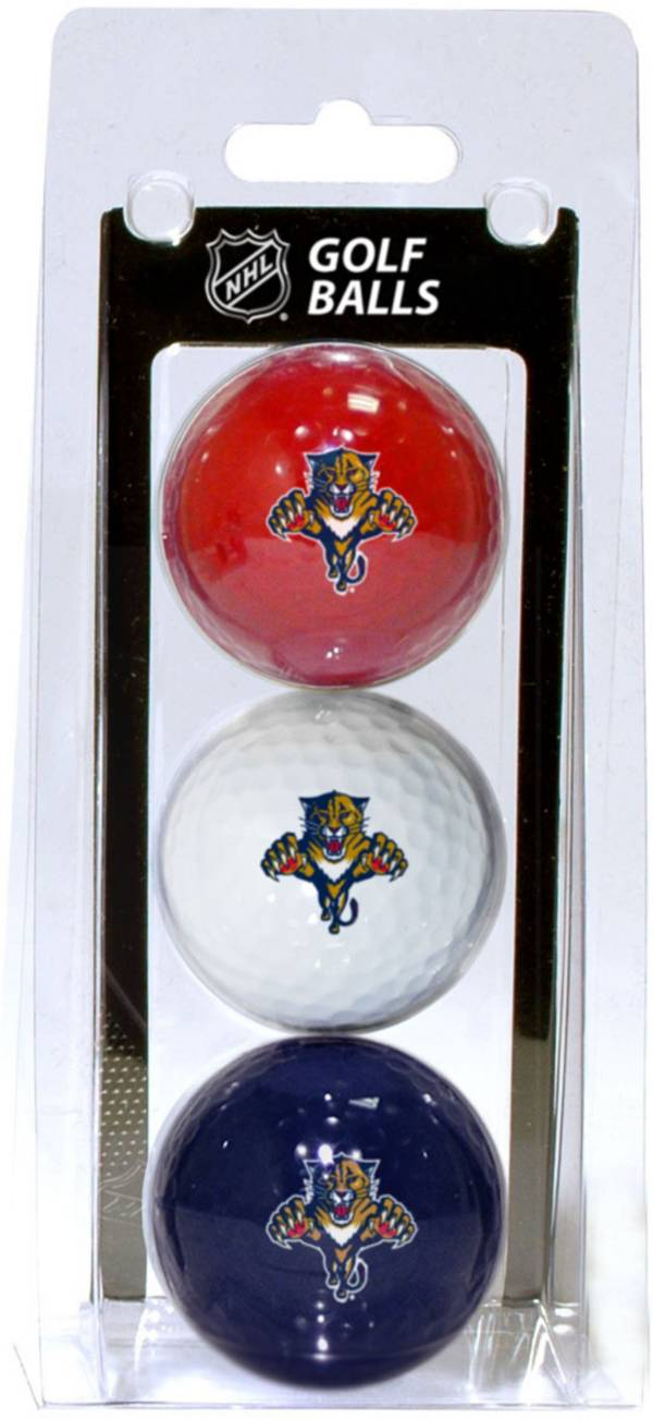 Team Golf Florida Panthers Three Pack Golf Ball Set product image