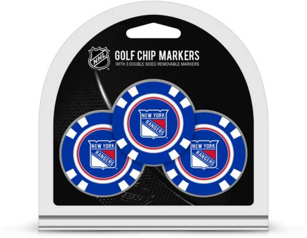 Team Golf New York Rangers Golf Chips - 3 Pack product image