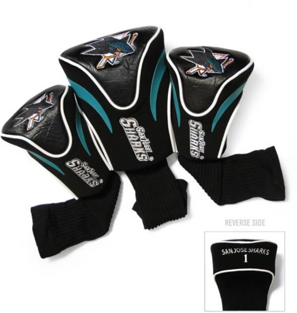 Team Golf San Jose Sharks 3-Pack Contour Headcovers product image