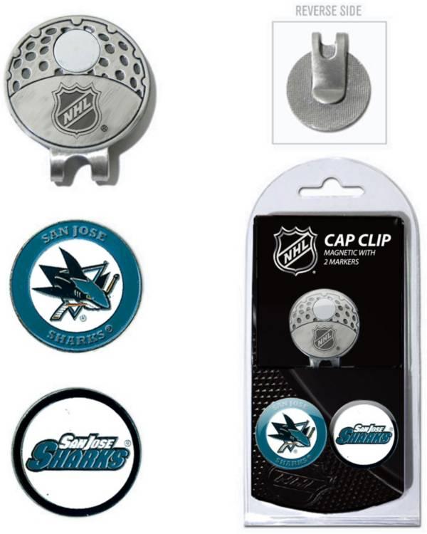 Team Golf San Jose Sharks Cap Clip And Marker Set product image