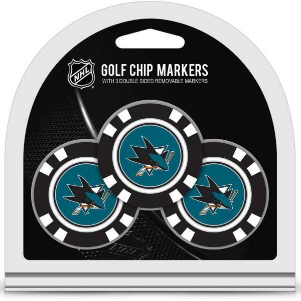 Team Golf San Jose Sharks Golf Chips - 3 Pack product image