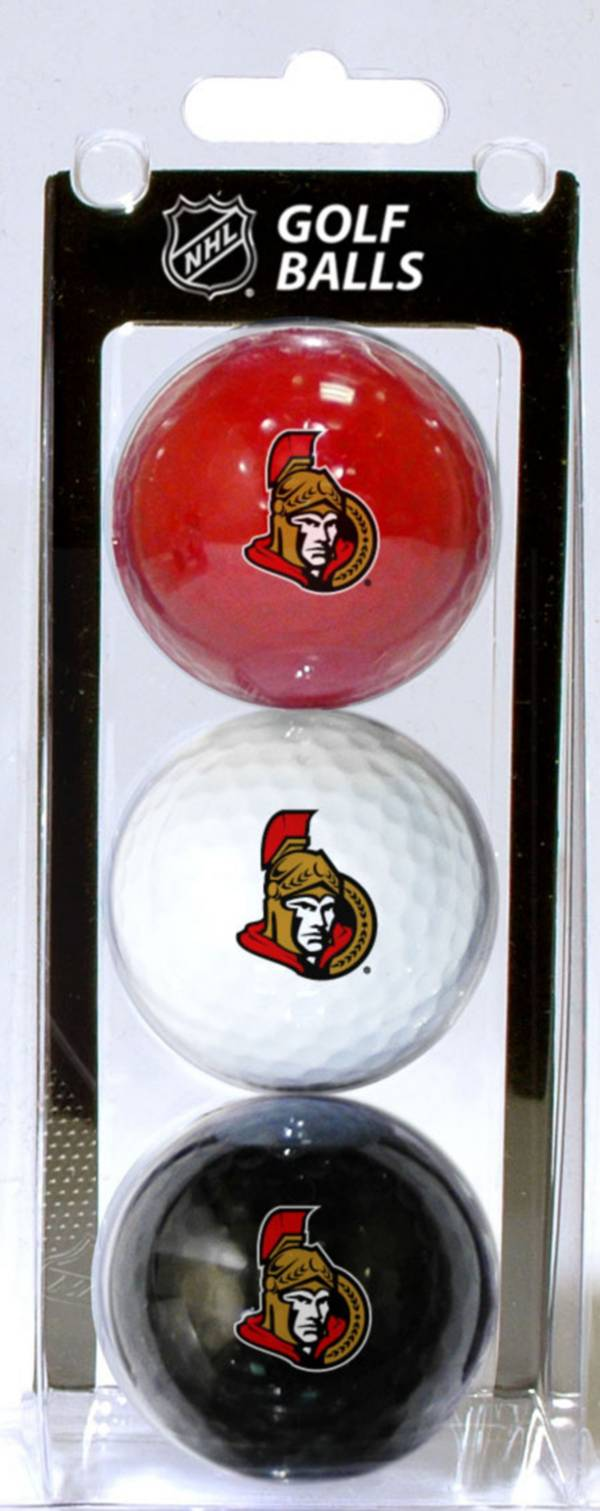 Team Golf Ottawa Senators Three Pack Golf Ball Set product image