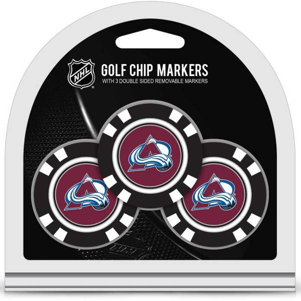 Team Golf Colorado Avalanche Golf Chips - 3 Pack product image
