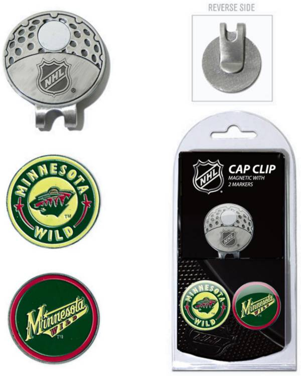 Team Golf Minnesota Wild Cap Clip And Marker Set product image
