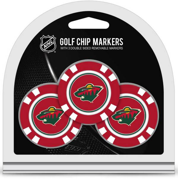 Team Golf Minnesota Wild Golf Chips - 3 Pack product image