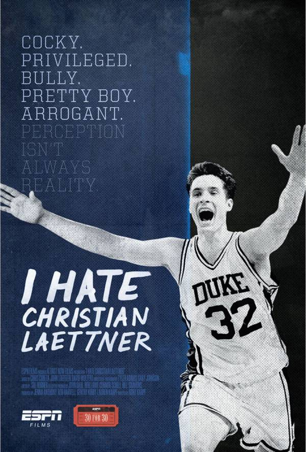 ESPN Films 30 for 30: I Hate Christian Laettner DVD product image