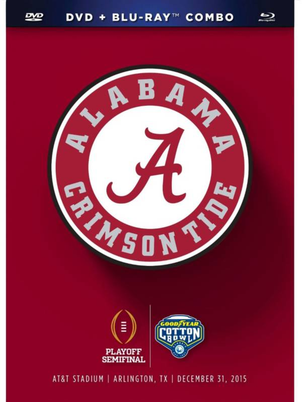 2016 Goodyear Cotton Bowl Game - Alabama vs. Michigan State DVD and Blu-ray Combo product image