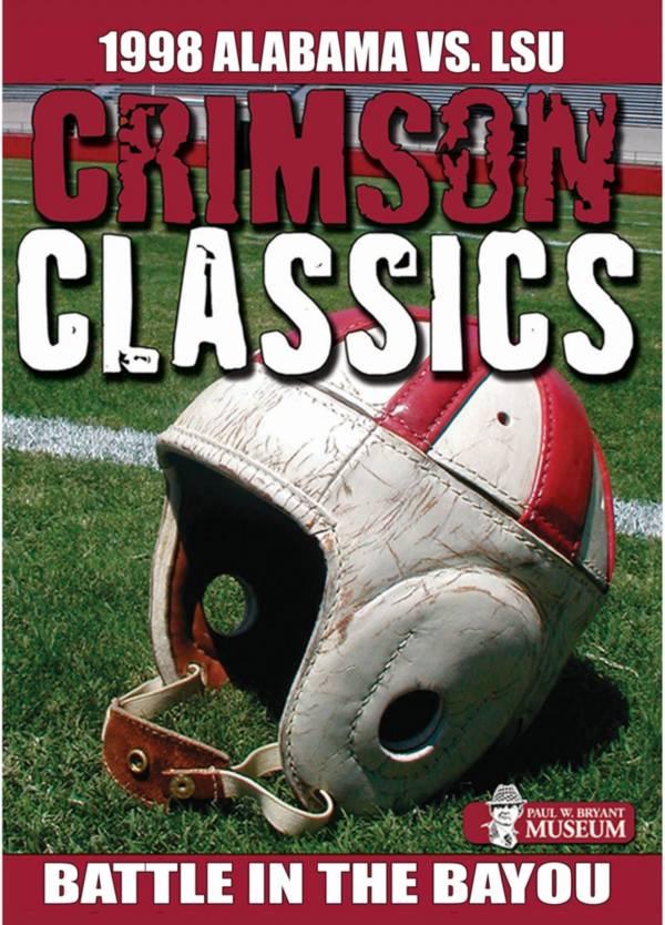 Crimson Classics: 1998 Alabama vs. LSU DVD product image