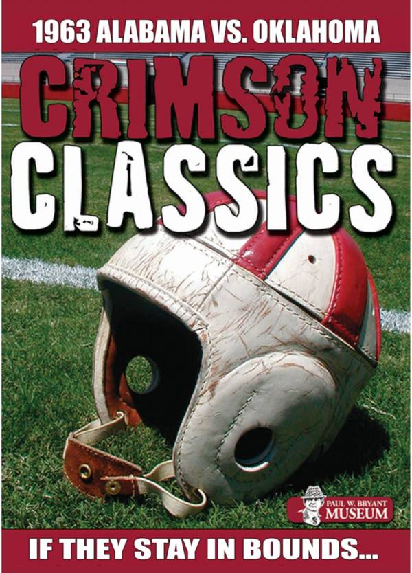 Crimson Classics: 1963 Alabama vs. Oklahoma DVD product image