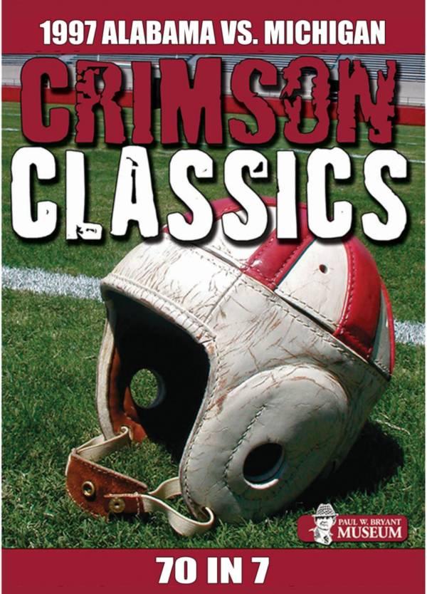Crimson Classics: 1997 Alabama vs. Michigan DVD product image