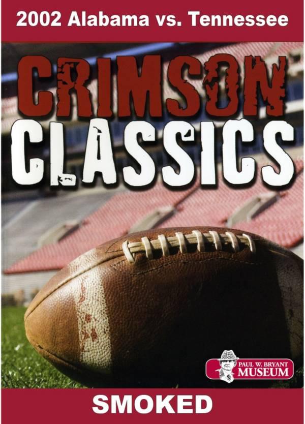 Crimson Classics: 2002 Alabama vs. Tennessee DVD product image