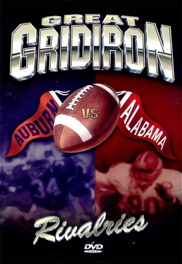 Great Gridiron Rivalries: Alabama vs. Auburn DVD product image