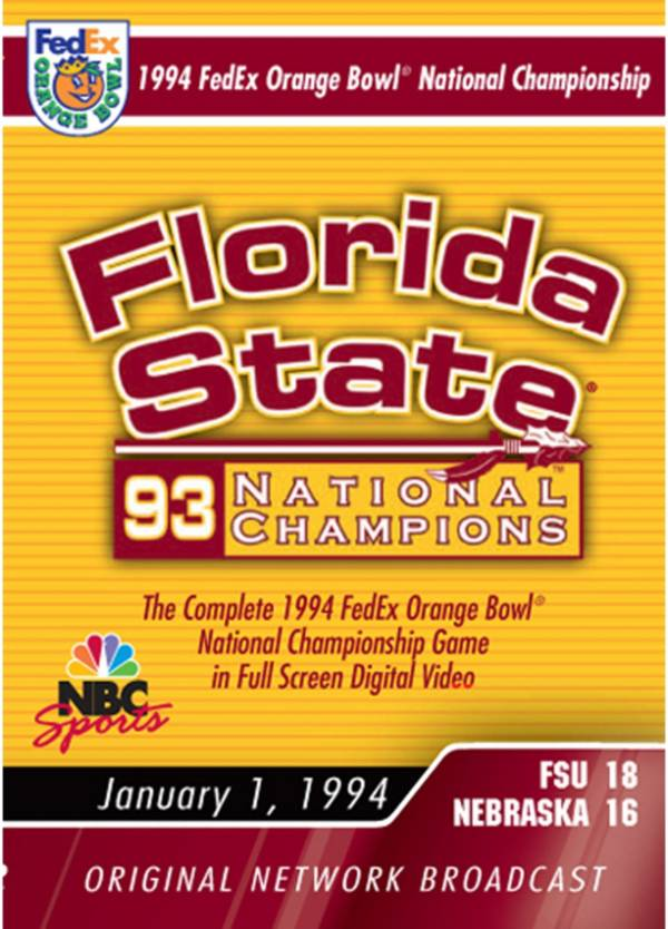 1994 FedEx Orange Bowl National Championship Game DVD product image