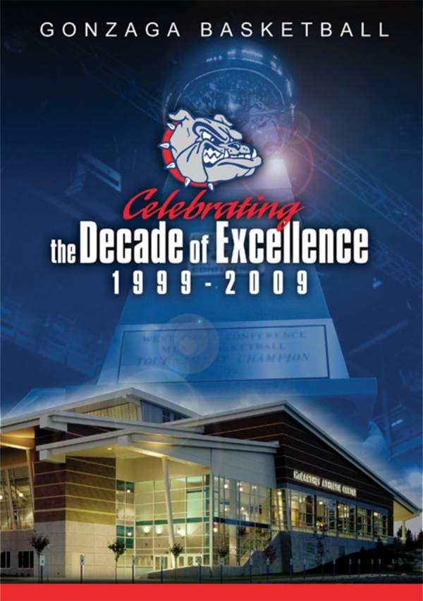 Gonzaga Basketball: Celebrating the Decade of Excellence (1999-2009) DVD product image