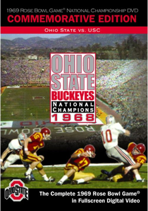 33025a4d 1969 Rose Bowl Game: Ohio State Buckeyes vs. USC Trojans DVD ...