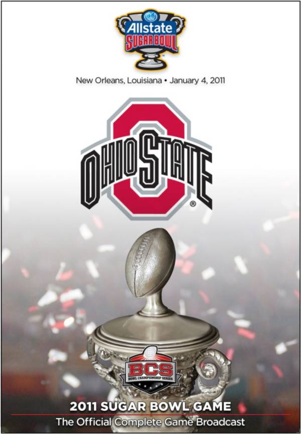 2011 Allstate Sugar Bowl Game - Ohio State vs. Arkansas DVD product image