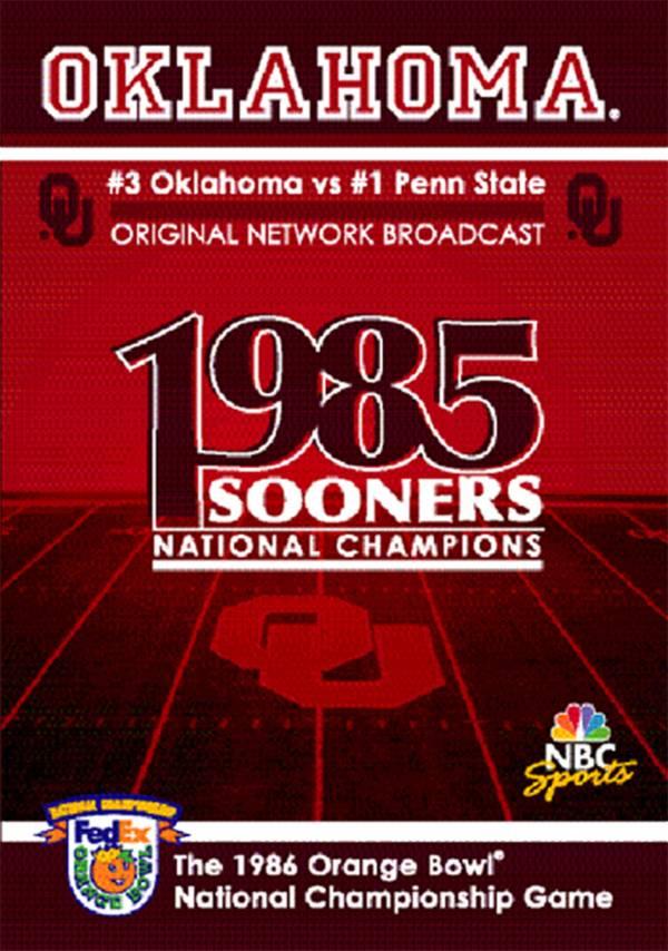 1987 Orange Bowl National Championship Game DVD product image