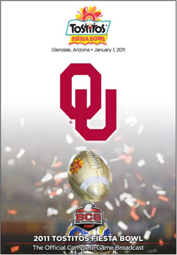2011 Tostitos Fiesta Bowl Game - Connecticut vs. Oklahoma DVD product image