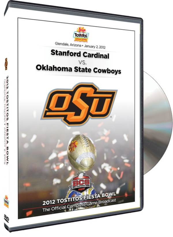 2012 Tostitos Fiesta Bowl Game - Oklahoma vs. Stanford DVD product image