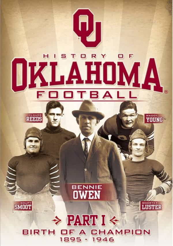 History of Oklahoma Football, Part 1: Birth of a Champion DVD product image
