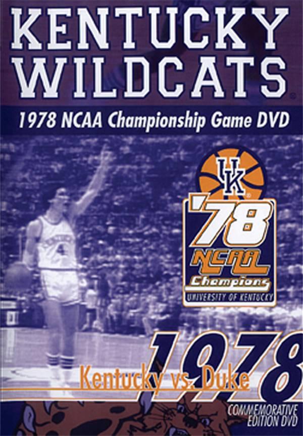 1978 NCAA Men's Basketball National Championship Game: Kentucky Wildcats vs. Duke Blue Devils product image