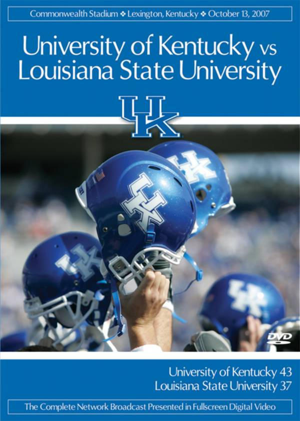 2007 Kentucky vs. LSU Game DVD product image