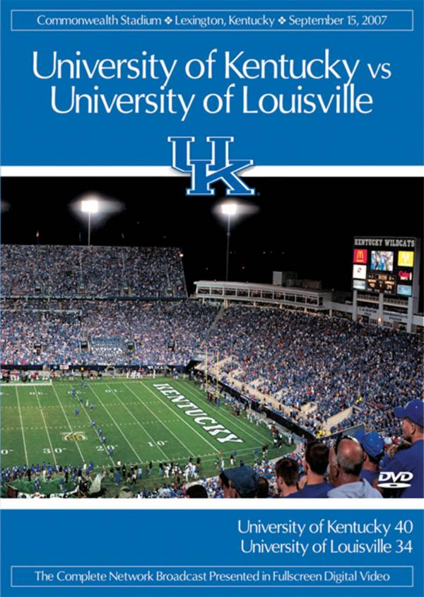 2007 Kentucky vs. Louisville Game DVD product image