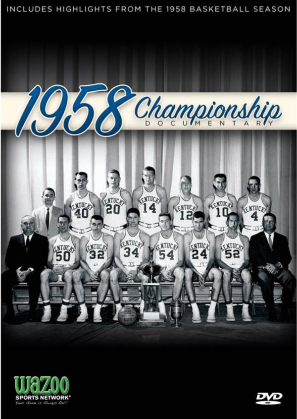 1958 NCAA Men's Basketball Championship - Kentucky vs. Seattle Game DVD product image