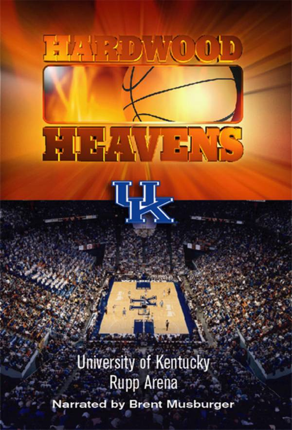 Hardwood Heavens: University of Kentucky: Rupp Arena DVD product image