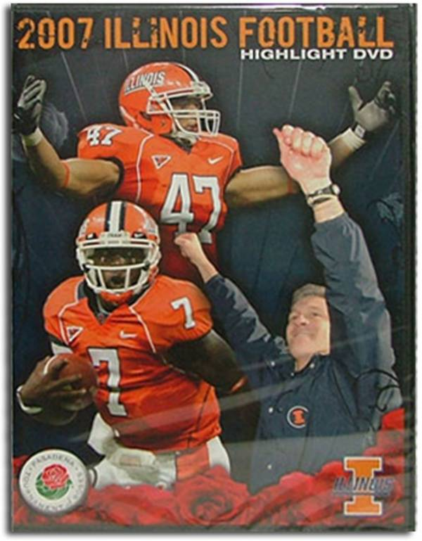 2007 Illinois Football Season in Review DVD product image