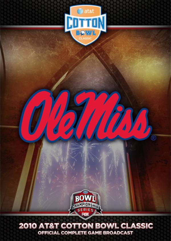 2010 AT&T Cotton Bowl Classic - Oklahoma State vs. Ole Miss DVD product image