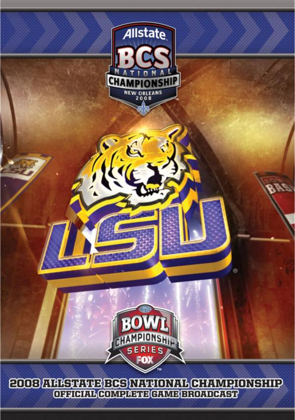 2008 Allstate BCS National Championship Game DVD product image