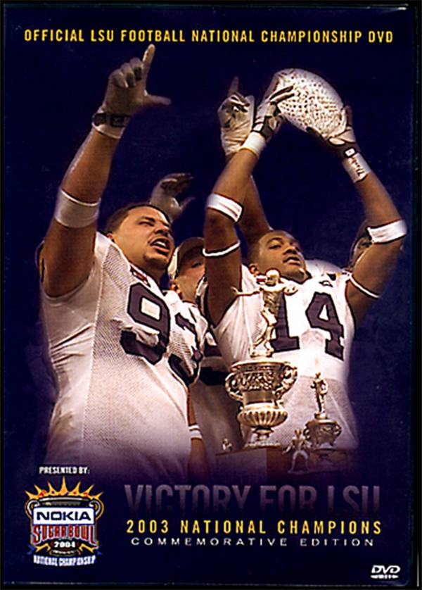 2003 LSU National Championship Highlights DVD product image